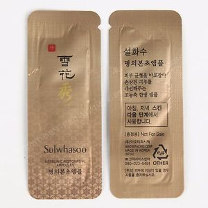 Sulwhasoo Herblinic Restorative Ampoules tinh chất hồi phục