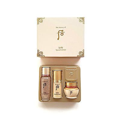 Bộ dưỡng da chống lão hóa 3 món Bichup Anti Aging Special Gift Set 3pcs