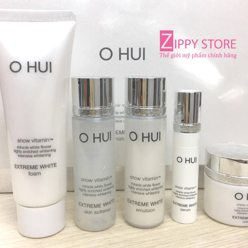 OHUI EXTREME WHITE 5 PIECES
