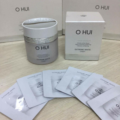 OHUI Extreme White Cream Snow vitamin sample