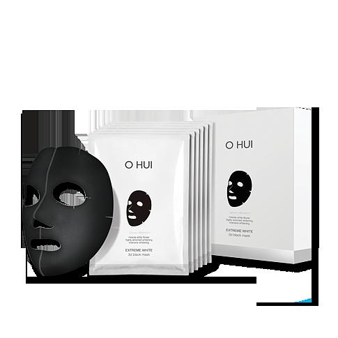 Mặt nạ 3D dưỡng sáng da & săn chắc Ohui Extreme White 3D Black Mask