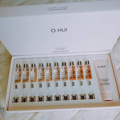 Set Serum Ohui 777 10 lọ tặng