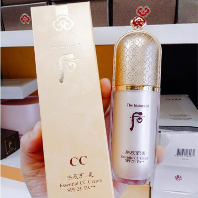 Kem nền Essential CC Cream WHOO