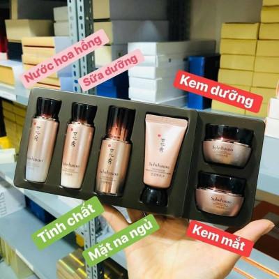 Set dưỡng da thông đỏ Sulwhasoo mini 6 sản phẩm mẫu mới